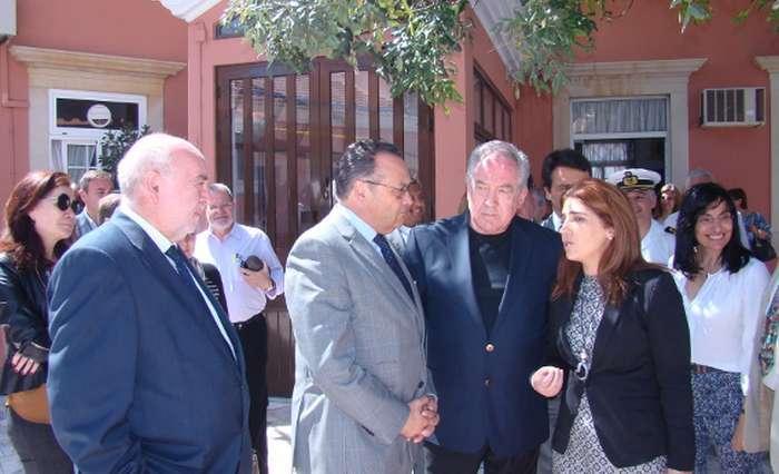 Visita do Sec Est. da Saúde ao Refúgio Aboim Ascensão
