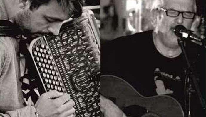 José Manuel Martins e Jão Frade no Cantaloupe Café