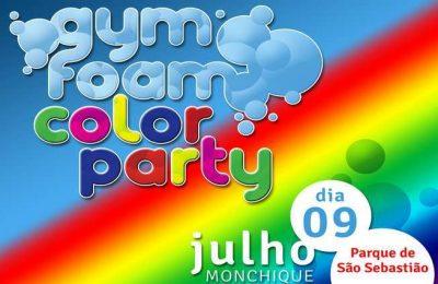 II Gym Foam Color Party em Monchique