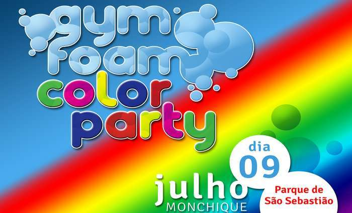 II Gym Foam Color Party em Monchique