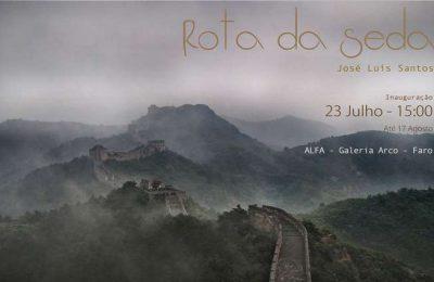 """Exposição """"Rota da Seda"""" na Galeria Arco em Faro"""