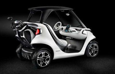 Carro de Golfe Garia da Mercedes-Benz