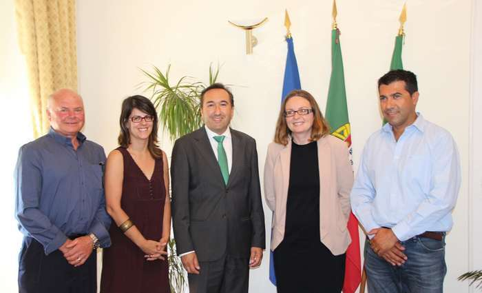 Embaixadora Britânica visitou São Brás de Alportel