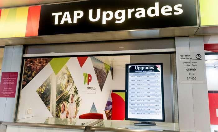 TAP facilita o upgrade de Económica para Executiva