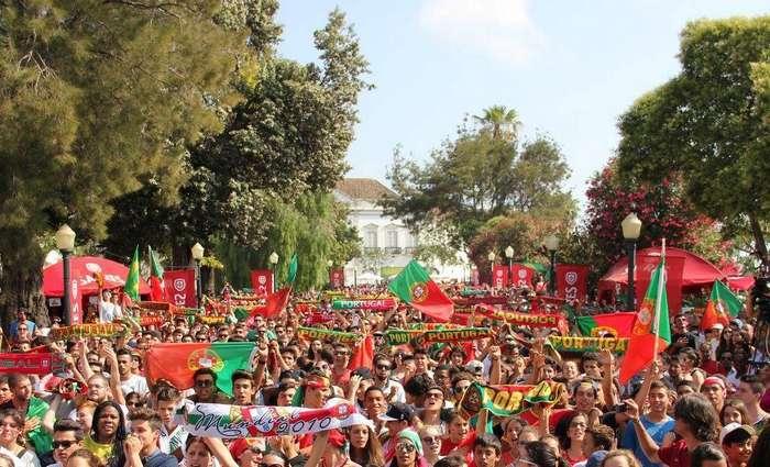 Faro anuncia segunda Fanzone no Largo S. Francisco