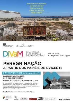 Exposição coletiva - Peregrinação - na Fortaleza de Sagres _ab