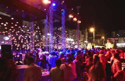 Sunseeker ofereceu espetáculo na Marina de Vilamoura