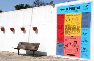 Novas cores de projeto artístico na Aldeia de Alportel