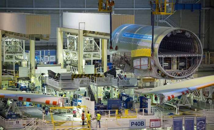 A Airbus iniciou a montagem final do primeiro A330neo