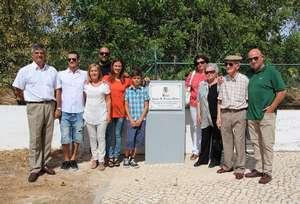 Família na homenagem a Jaime Passos Pinto