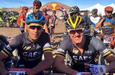 Vitor Gamito venceu Master40 na MTB Raid Atacama
