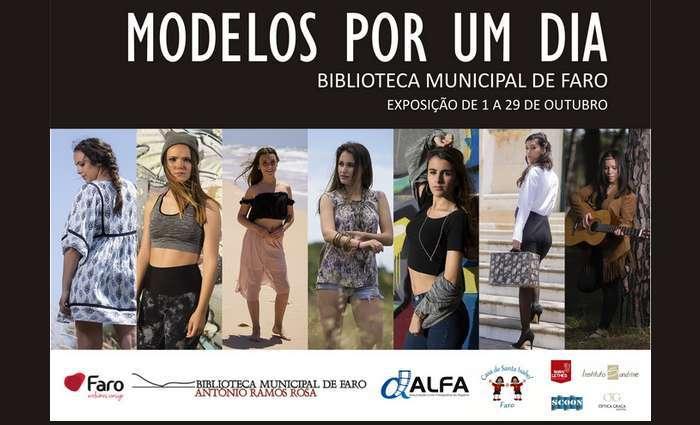 Biblioteca Municipal de Faro expõe MODELOS POR UM DIA