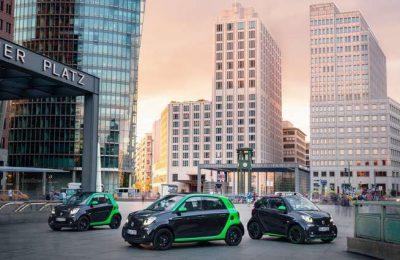 Nova gama smart electric drive no Salão de Paris
