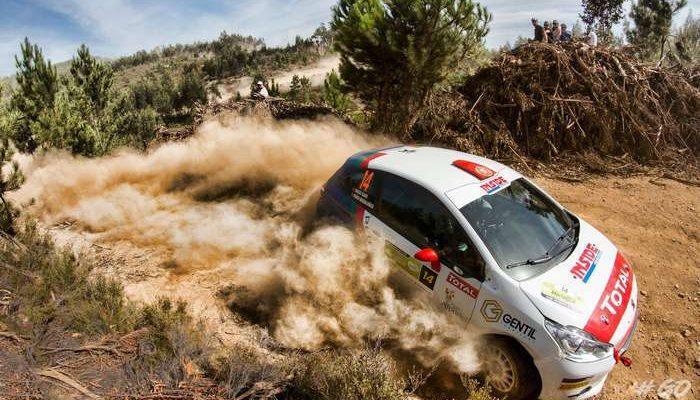 Diogo Gago ataca o nacional no Rallye Casino de Espinho