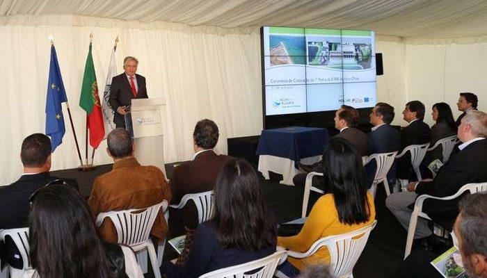 Lançada hoje a 1ª Pedra da nova ETAR Faro-Olhão