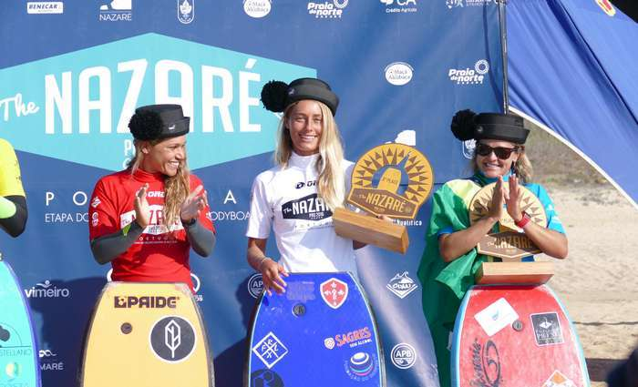 Joana Schenker fecha o ano em 4º no Mundial de Bodyboard