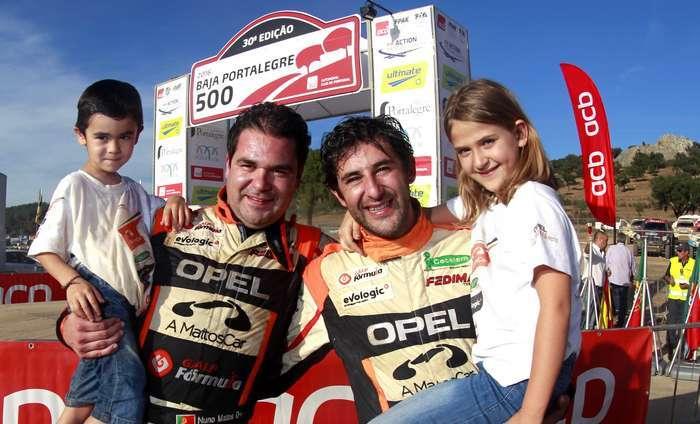 Nuno Matos sagrou-se Campeão TT na Baja Portalegre