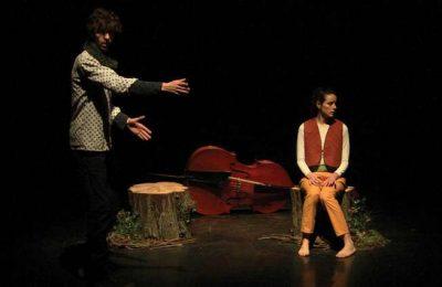 Peça de teatro/dança para a infãncia na Fortaleza de Sagres