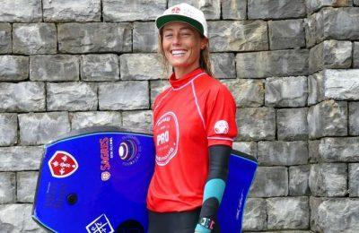 Joana Schenker é bicampeã da Europa em Bodyboard