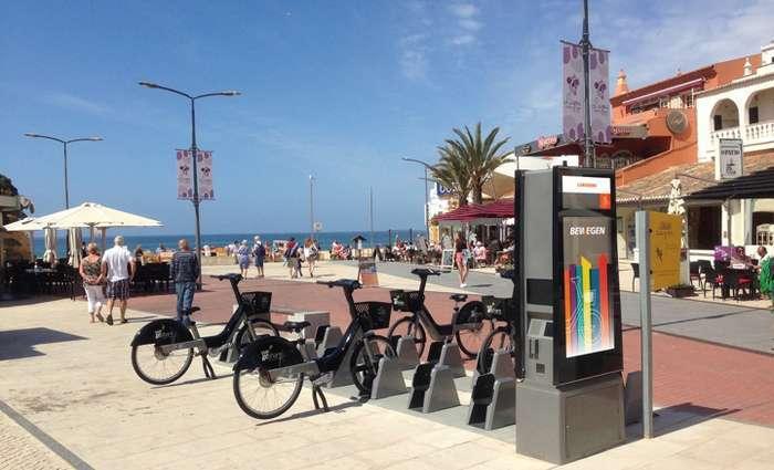 Lagoa inaugura estações de bicicletas elétricas