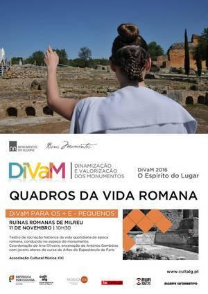 Quadros da Vida Romana nas Ruínas Romanas de Milreu