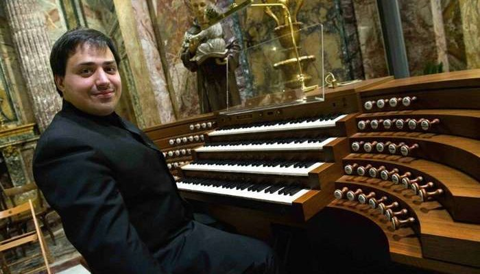 Tiago Ferreira no Festival de Órgão em Tavira