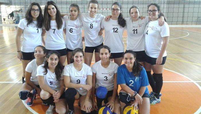 Voleibol: ACA de Albufeira bateu Salesianas de Évora