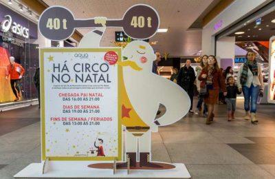 Pai Natal e Circo de Natal no CC Aqua Portimão