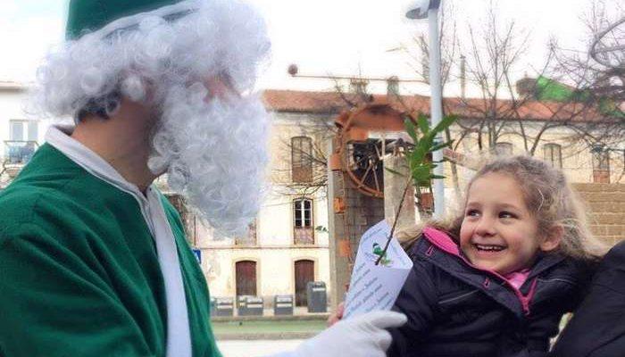 O Pai Natal Verde cultiva o futuro em Monchique