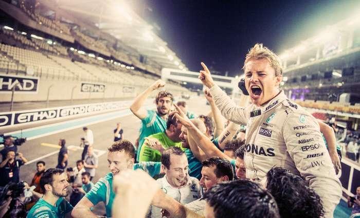 Nico Rosberg anunciou o abandono da competição