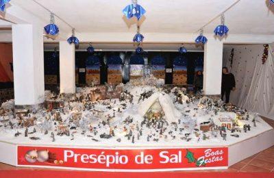 Presépio de Sal na Casa do Natal de Castro Marim