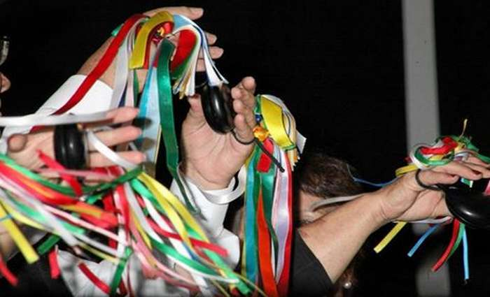 As Charolas dão as boas vindas ao novo ano em Tavira