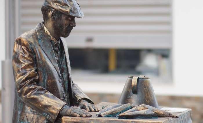 Uma dezena de Estátuas Vivas animam ruas de Lagoa