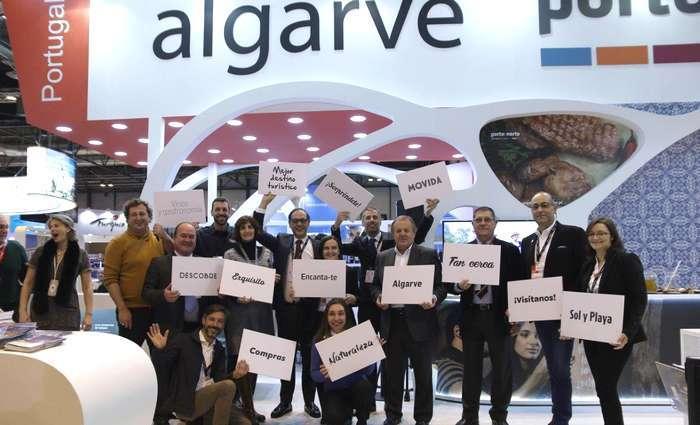 ¡Algarve Te Invita! fez sucesso na Fitur 2017 em Madrid