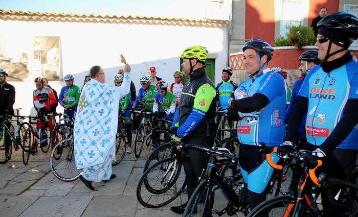 Benção dos ciclistas algarvios em São Brás de Alportel