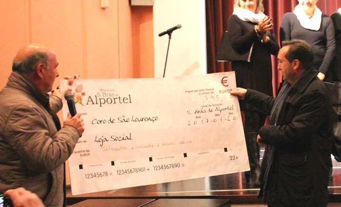 Receita de concerto solidário entregue Loja Social de São Brás