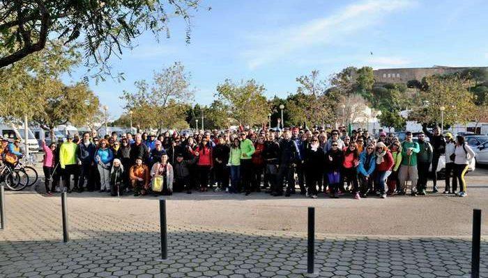 Elevada participação na Caminhada Grande Rota do Guadiana