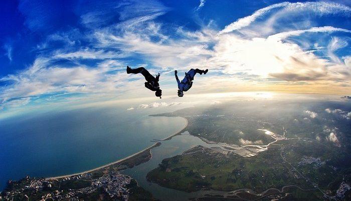 Paraquedismo recreativo mundial reúne em Faro