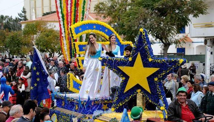 Portugueses e Espanhóis festejaram o Carnaval em Altura