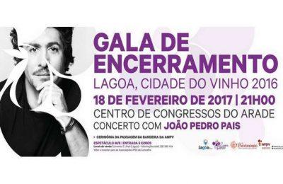 """João Pedro Pais na Gala """"LAGOA, CIDADE DO VINHO 2016"""""""