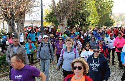 Marcha Corrida reuniu 600 participantes em Castro Marim
