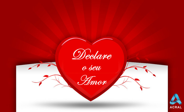 Declare o Seu Amor ;) Com o Comércio Local