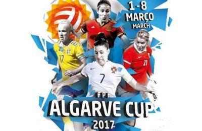 Lagos recebe dois jogos da ALGARVE CUP 2017