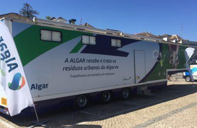 Ação da Unidade Móvel Ambiental da Algar em Tavira