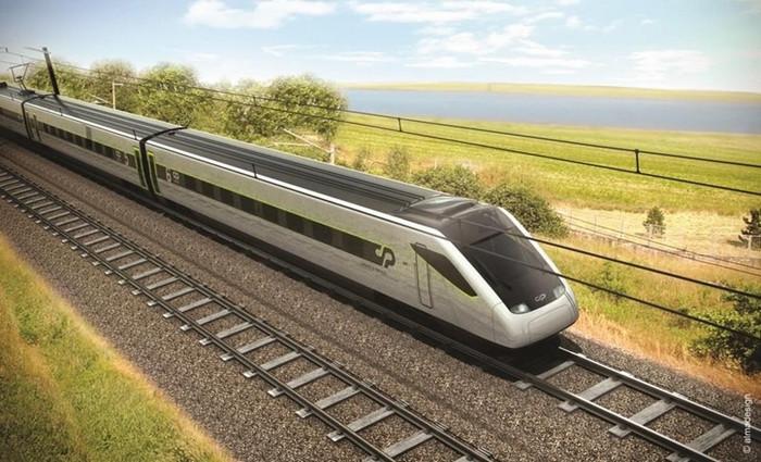 CP apresenta a nova geração de comboios Alfa Pendular