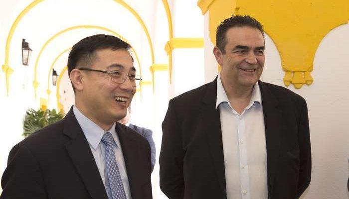 Lagoa foi visitada pelo Embaixador da China em Portugal