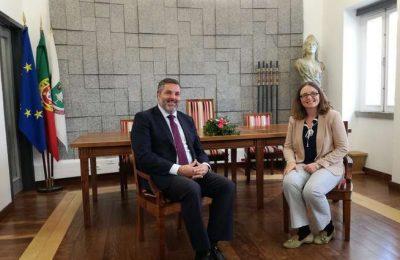 Embaixadora do Reino Unido em Portugal visitou Monchique