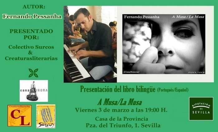 A Musa de Fernando Pessanha apresentado em Sevilha