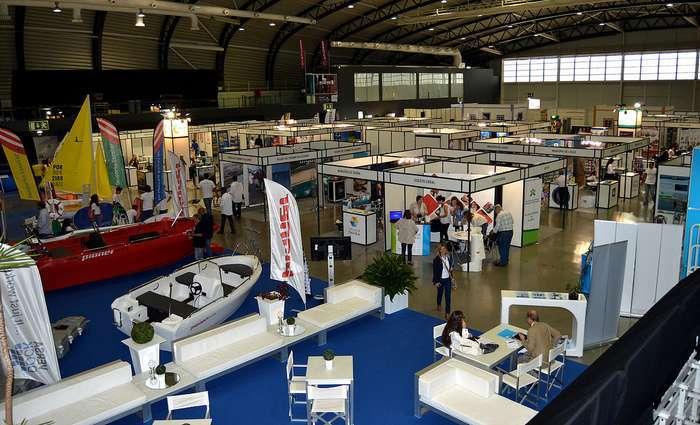 Ministra do Mar visita a Mar Algarve Expo no Portimão Arena