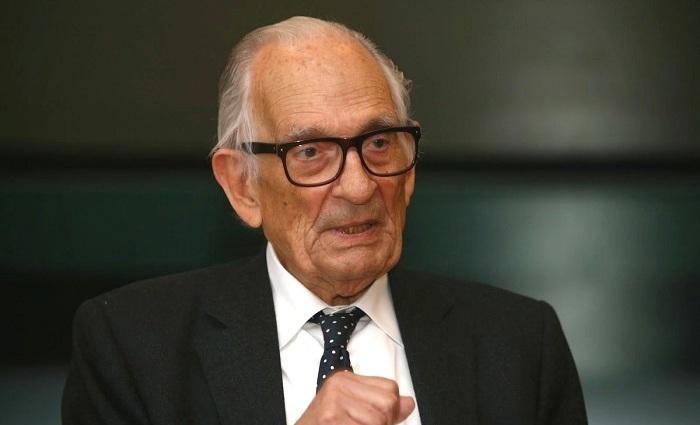 Adriano Moreira na sessão comemorativa do Tratado de Roma